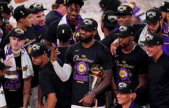 ¡Lakers campeones!